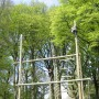 Experience new highs on our climbing frame and high ropes course