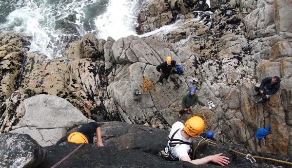 Rock Climbing Gola Island - Iain Miller
